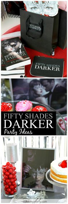 Here's how to host a Valentine's Day Fifty Shades Darker cocktail party for your girlfriends! I've even included free printables from the movie to decorate and a fun cocktail recipe with special ingredients. #FiftyShadesDarker #ad
