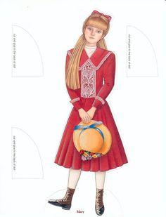 The Secret Garden paper dolls by Peck Aubry - Nena bonecas de papel - Álbumes web de Picasa