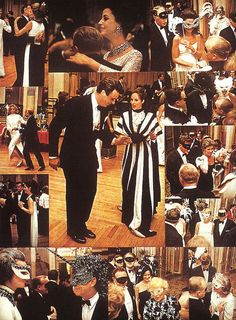 """{The Black & White Ball} Personalities and High Society during the """"Black and White Ball"""" legendary masked ball organized by the writer Truman Capote in Grand Ballroom of New York City's Plaza Hotel. NY, November 28, 1966."""