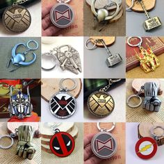 Marvel DC Comics Anonymous Star Wars Transformers Keychains (17 styles) //Price: $0.00 & FREE Shipping //