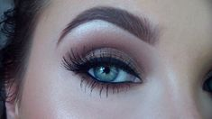 Chocolate brown glittery smokey eye.  I love Jacklyn Hill!!!!  She does some great videos!!!