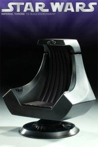 Star Wars chair... I want this to match with my Han Solo desk!