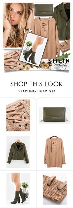 """SHEIN III/10"" by creativity30 ❤ liked on Polyvore featuring WithChic and shein"