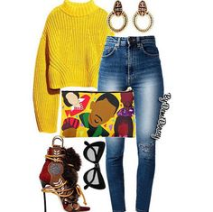 Love this fit, minus the shoes | Bomb Product of the Day: Kashmir Viii African American Icon and Pop Culture Handbags