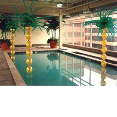 balloon palm trees!