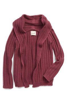 Peek 'Joss' Knit Shawl Collar Cardigan (Toddler Girls, Little Girls & Big Girls) available at #Nordstrom
