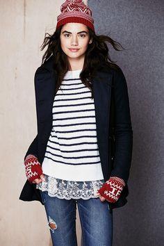 Delia's-I love the sweater.