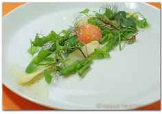 KAQUUS HAUSMANNSKOST: Onsen - Ei, confiert zum Spargelsalat