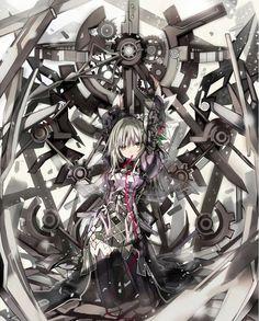 re 304868 clockwork_planet dress eefy pantyhose ryuzu shino_(eefy). Gamers Anime, Otaku Anime, All Anime, Manga Anime, Anime Art, Anime Girls, Fanart Manga, Manga Art, Planets Wallpaper