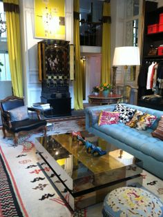 My favorite shop in the world...exquisite interior.  Dries van Noten, Paris
