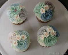 베란다스튜디오 버터크림 플라워 컵케이크 : 네이버 블로그