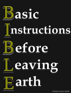 Bible - Click image to find more Other Pinterest pins