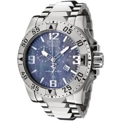 Invicta Mens 6258 Reserve Collection Chronograph Stainless Steel Watch >>> Learn more by visiting the image link.(This is an Amazon affiliate link and I receive a commission for the sales)