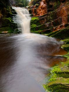 Limestone Brook falls by views of the world