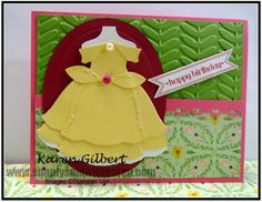 Happy Birthday with Belle by kaygee47 - Cards and Paper Crafts at Splitcoaststampers