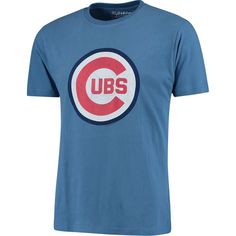Men's Chicago Cubs Wright & Ditson Royal Vintage T-Shirt