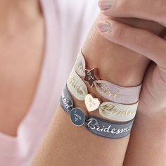 Personalised Wedding Bracelet. Personalized Wedding Bracelet.