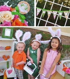 Easter Egg Hunt Decorations