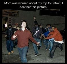 trip to Detroit