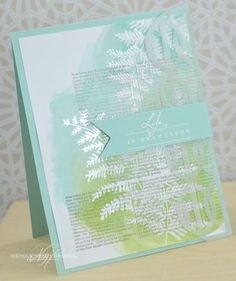 Life Is Beautiful Card by Nichole Heady for Papertrey Ink (July 2013)