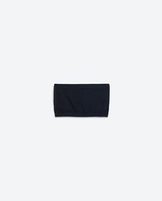 Image 1 of BASIC BANDEAU TOP from Zara