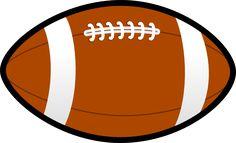Football clip art image #pigskin