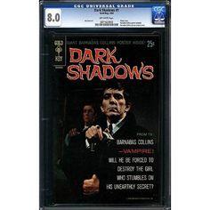 Amazon.com: Dark Shadows #1 CGC VF 8.0 Comic Book with Poster: Collectibles