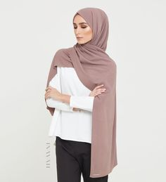 Our Premium collection of linen blend hijabs is now online! Antler Linen Blend Hijab www.inayah.co