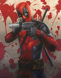 #Deadpool #Fan #Art. (Deadpool) By: Smlshin. ÅWESOMENESS!!!™ ÅÅÅ+