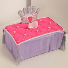 Simply Enchanted - Purple Collection Tissue Box