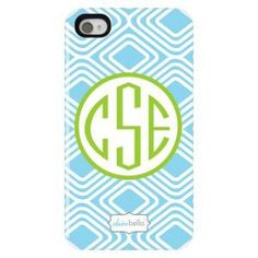 U can get initials on a phone case