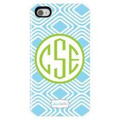 U can get initials on a phone case