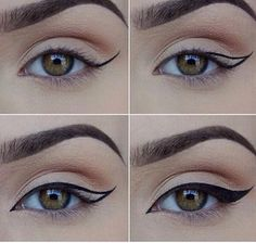 Makeup; maquiagem;olho; delineado