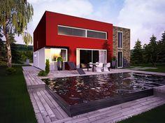 Moderna 6   Moderní domy   EcoHouse Czech a.s.