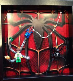 #Lego spiderman #minifigures frame #legominifigures