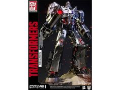 Megatron Transformers Generation 1 Premium Museum Master Line Statue - Transformers Statues Generation 1