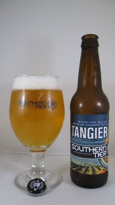 Southern Tier Tangier (Session IPA) Appearance: Dark golden color, but nearly completely clear body. Pours to an average-sized, off-white, soapy head which retains and laces pretty well.   Smell: Huge citrusy aroma, especially that of orange (not surprising considering the use of tangerine peels). Some spicy character lurks in the background.   Taste: Simply using a citrus fruit peel in a brew doesn't make it a fruit beer; it's actually more of a garnish. Those expecting this to be juicy may…