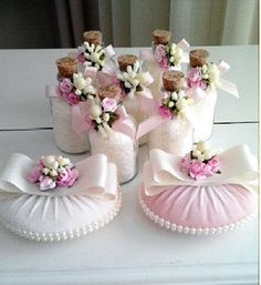 Wedding favors  Thank you gift Favor Pink and by DokumaAccessories, $11.00
