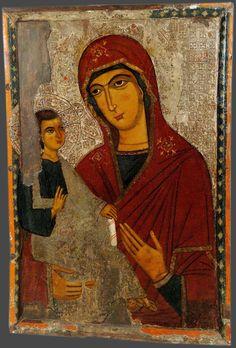 Religious Icons, Virgin Mary, Medieval, Mona Lisa, Religion, Faith, Artwork, Painting, Image