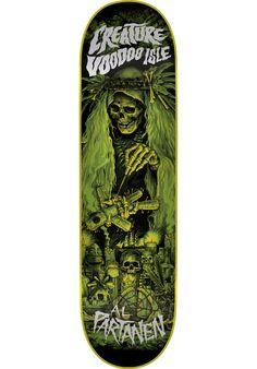 Creature Voodoo-Isle - titus-shop.com  #Deck #Skateboard #titus #titusskateshop