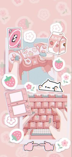 Pink gamer aesthetic iPhone wallpaper in 2021 | Iphone wallpaper kawaii, Pink wallpaper anime, Iphone wallpaper girly