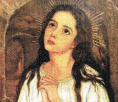 St. Philomena! this picture is gorgeous! I love it!