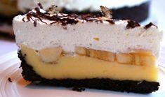 Oreo torta s pudingom a banánmi - Receptik. No Bake Cake, Cheesecake, Ale, Baking, Sweet, Food, Recipes, Cheesecake Cake, Bread Making