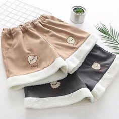 Kawaii Cookie Shorts ●Size:Waistline ●Color: Khaki ,Gray ●Process time: business days●Shipping time: business days to United States, weeks to other country. Harajuku Fashion, Kawaii Fashion, Cute Fashion, Fashion Styles, Teen Fashion Outfits, Teen Fashion Tumblr, Lolita, Korean Fashion Trends, Japanese Outfits