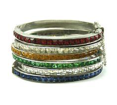 Victorian channel set bracelets #houseoflavande