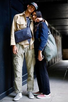 London Fashion by Paul: Street Muses Stylish Mens Fashion, Best Mens Fashion, Semi Casual Outfit, Stylish Couple, Fashion Couple, Guy Fashion, Street Fashion, Mens Style Guide, Couple Outfits