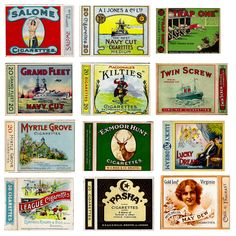 Old Cigarette Packets