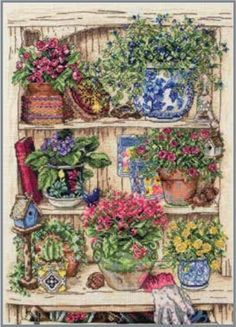 Garden Bits And Bobs - Counted Cross Stitch Kit