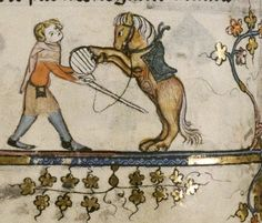 On Horses, Getting Back On Them (Mmm… Marginalia Medieval Life, Medieval Art, Medieval Manuscript, Illuminated Manuscript, Statues, Art Periods, High Middle Ages, Early Modern Period, Man Vs