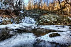 Cunningham Falls in the Catoctin mts in Frederick County Maryland